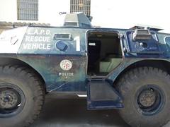 LAPD - Cadillac Gage Commando V100 Armored Vehicle (6)
