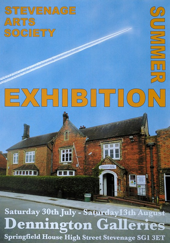 Stevenage Arts Summer Exhibition 2016