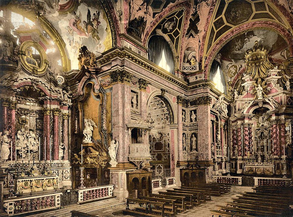Interior Scalzi, Venice, Italy