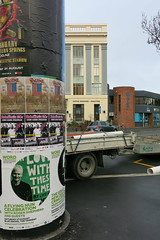WORD Christchurch posters on High Street