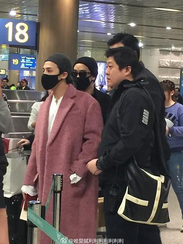Big Bang - Harbin Airport - 22mar2015 - 唯愛膩利利利利利利利 - 02