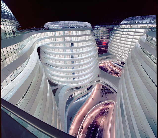 Zaha's Galaxy of offices