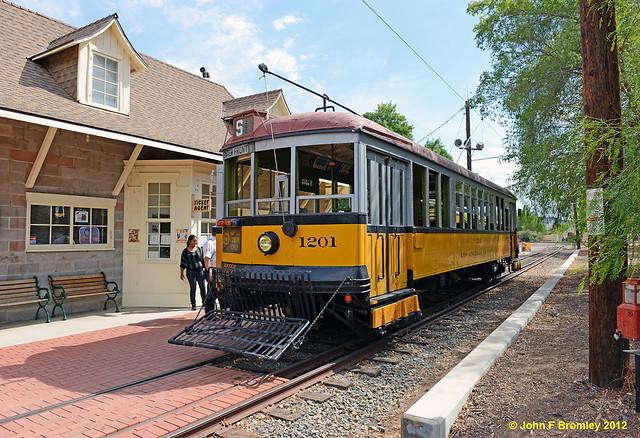 JFB 120922 001 LARY 1201 Orange Empire Railway Museum Station