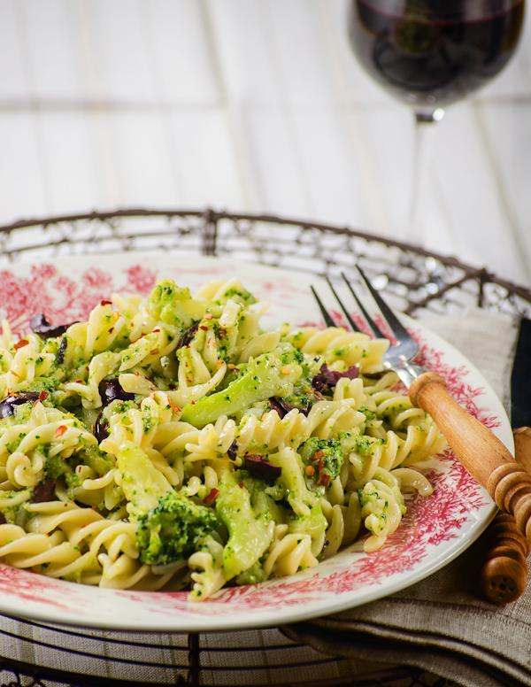 Pasta e Broccoli Sicilian style
