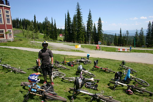 T2R July 2012. BC Bike Park Tour. Silver Star Bike Park