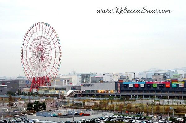 Ferris wheel - Odaiba Tokyo Japan - rebeccasawblog