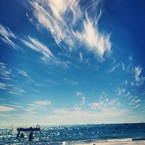 #pontoon @ South Beach #Fremantle