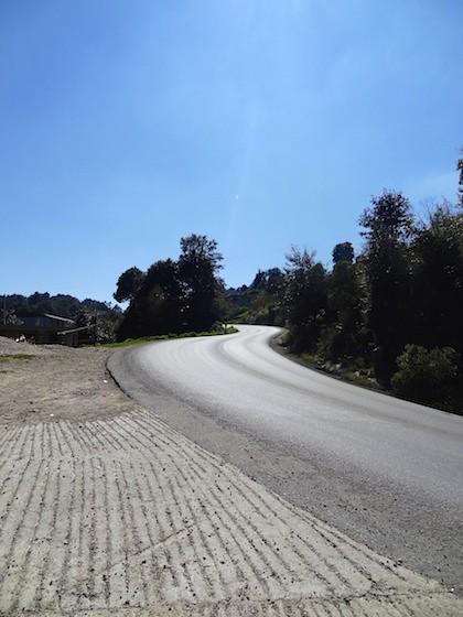 view above San Cristobal