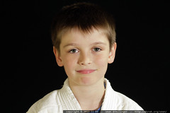 testing a photo booth setup for karate school portra…