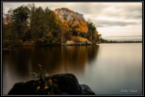 park autumn lake water finland evening autumncolors tampere pyynikki syksy pyhäjärvi