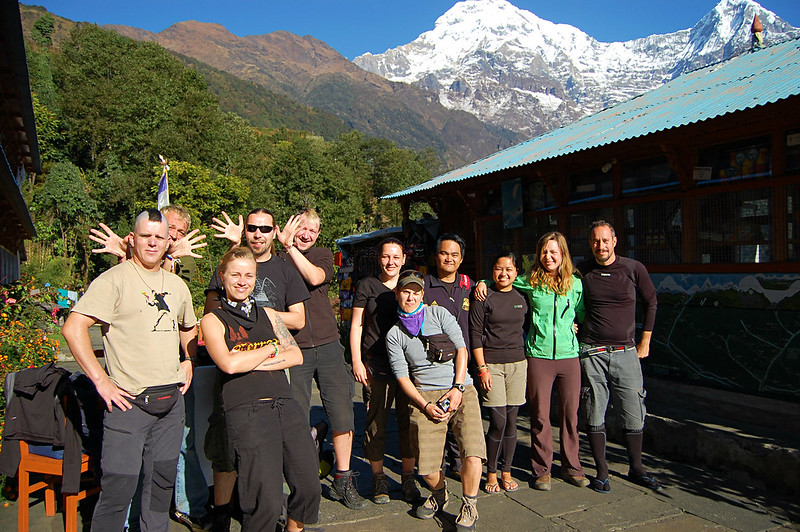 Annapurna Sanctuary Trek Friends