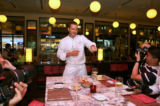 Chef Stephane Istel of db Bistro Moderne