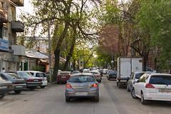 Rostov on Don - Bouchon même dans les petites rues