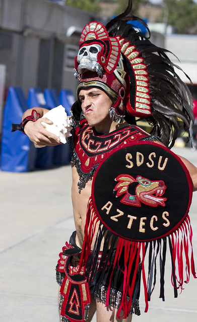San Diego State Mascot http://www.flickr.com/photos/nathaninsandiego/8176354941/