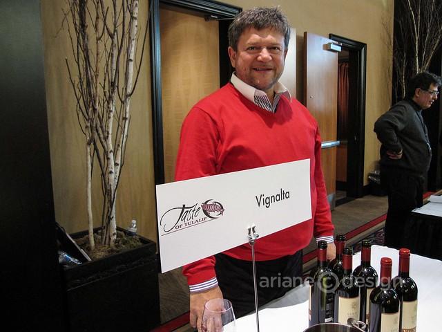Winemaker Lucio Gomiero, Vignalta Winery, Italy