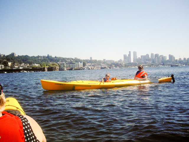 Me and Anthony, kayaking