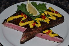 Coffee Crusted Ahi Tuna