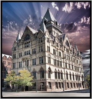 Syracuse NY ~ Syracuse Savings Bank Building ~ Historical 1875