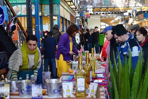 """Organizaron los """"Días de México"""", en el Mercado General de Budapest"""