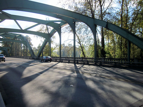 99E bridge.  Isn't it pretty?