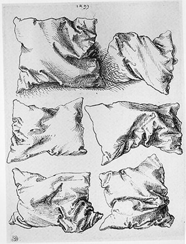 Albrecht Dürer Sechs Kissen (Six Pillows), 1493