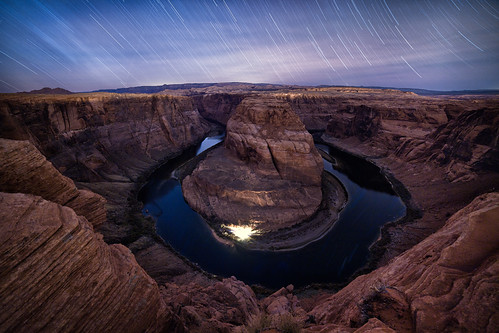 Horseshoe under the stars