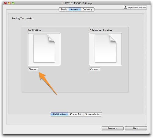 Upload new file in iTunes Producer