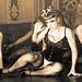 Vixenne Deville Burlesque (Nov 2012 - Monochrome Only)