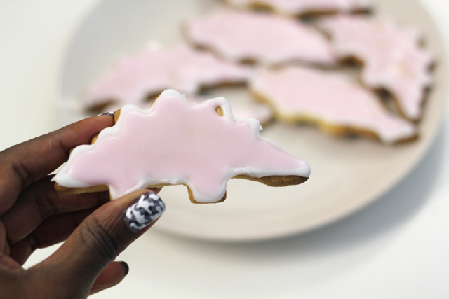 Tatty Devine dinosaur biscuits