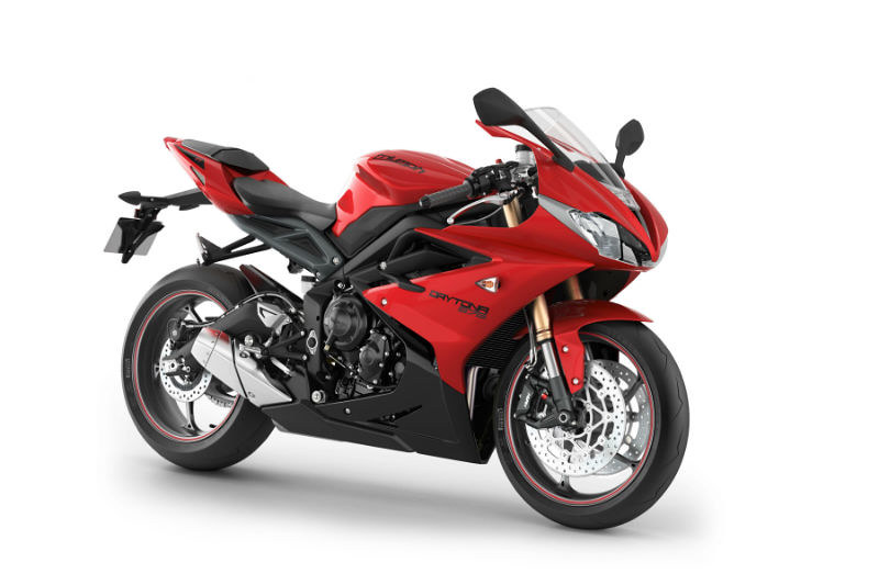 2013 Triumph Daytona Red
