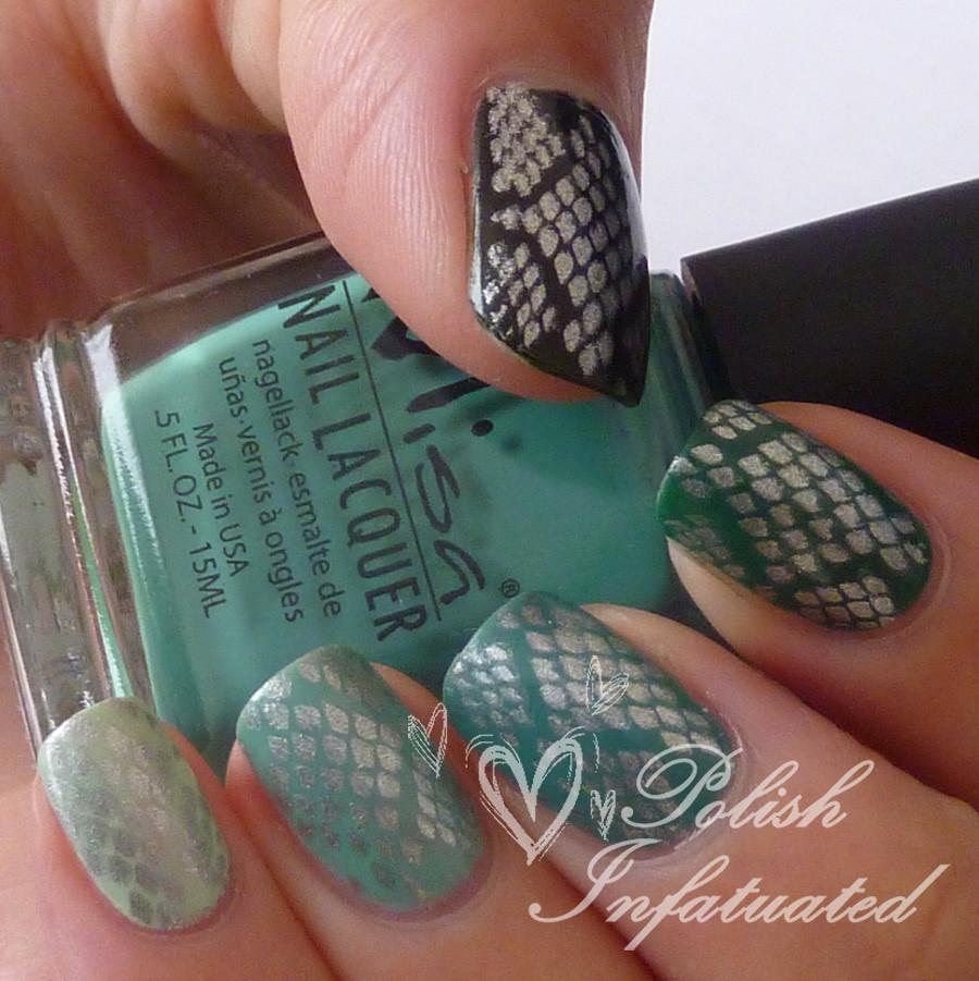 green ombre snakeskin2
