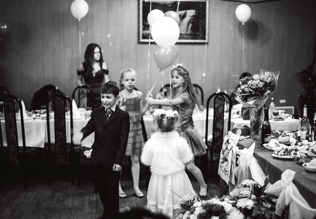 Wedding and childrens