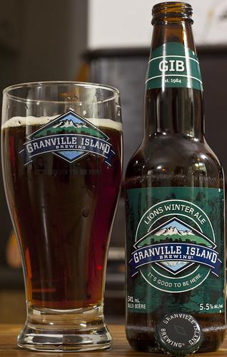 Review: Granville Island Lions Winter Ale by Cody La Bière
