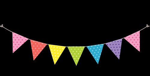 Bunting---Dots-and-Stripes---Rainbow---5