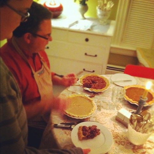 pie time #thanksgiving