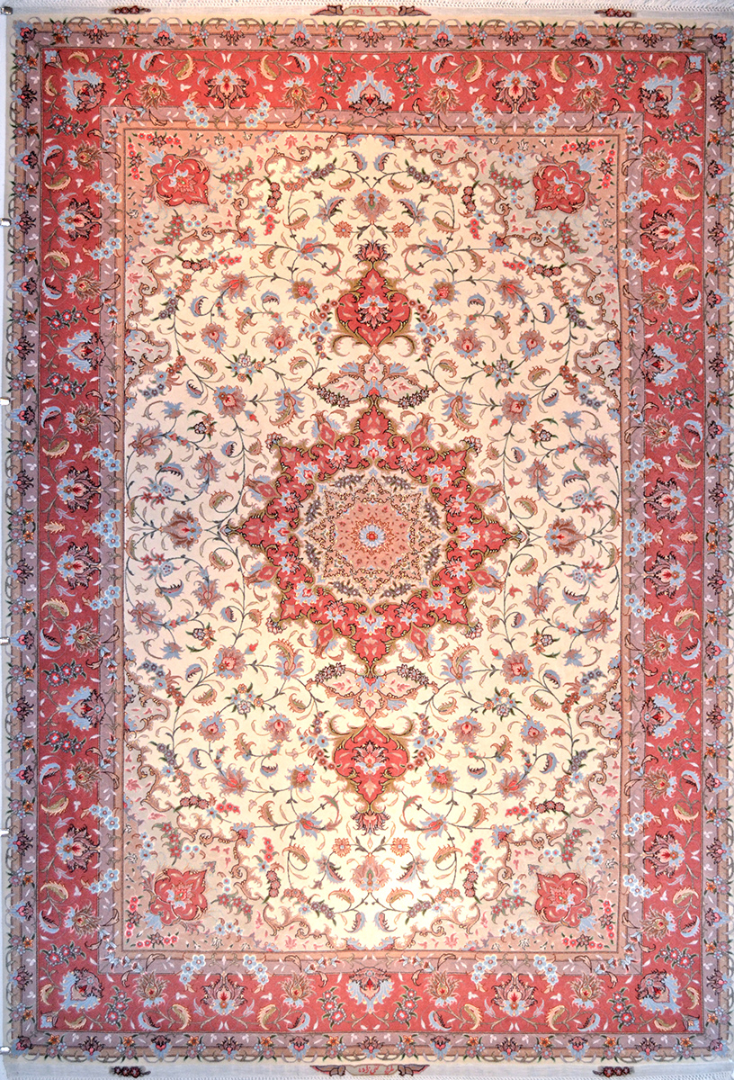 7' x 10' Persian Rug Hand Woven