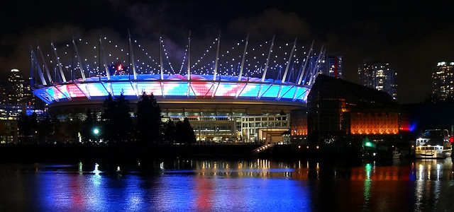 "BC Place to Fly ""Virtual"" Union Jack This Week"
