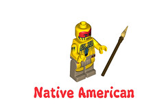 LEGO Minifigures Series 10 -  Native American