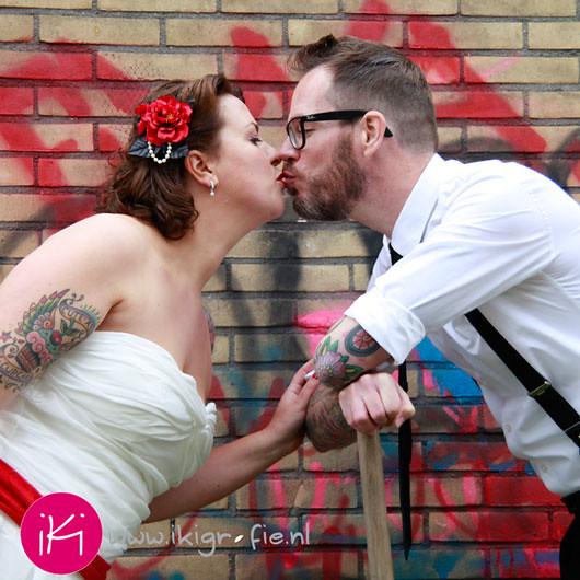 Onze bruiloft