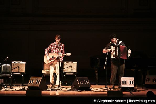 Ian Felice @ Carnegie Hall, NYC 11/21/12