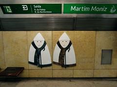 Metro der Lisboa - Estação Martim Moniz