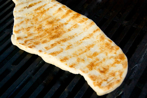 grilled dough