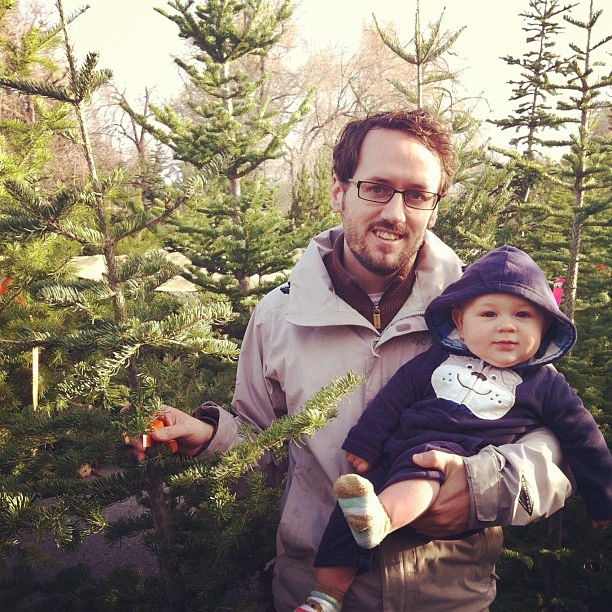 Christmas tree hunting. #dailyjohn