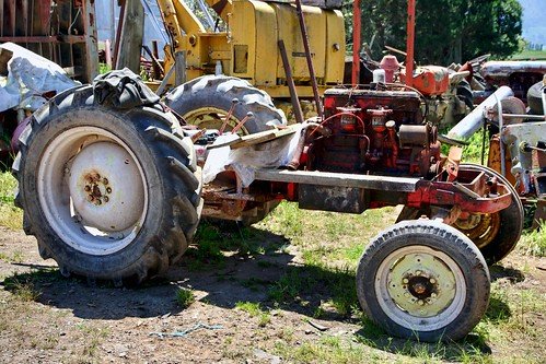 I was told this tractor had been used only a coupl...