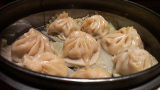 Chicken Momo Dumplings at Malingo - Sunnyside, Queens NYC