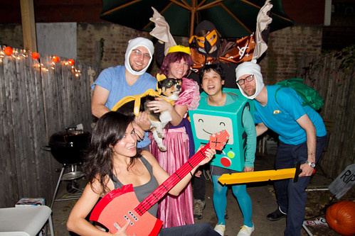 Adventure Time group photo