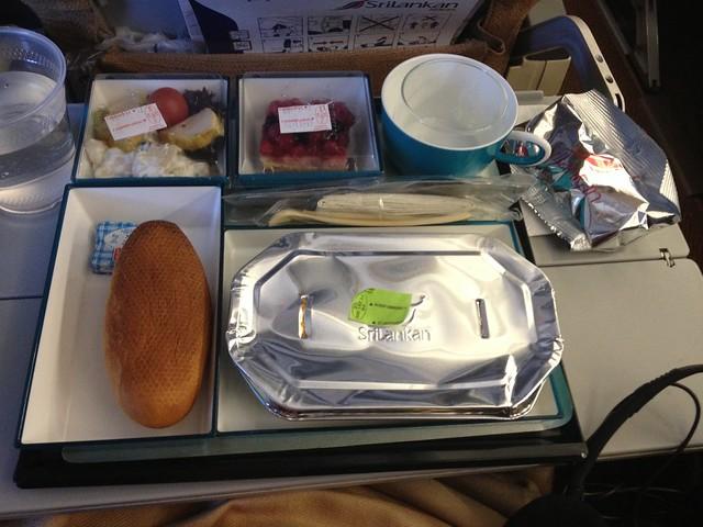 Plateau-repas SriLankan Airlines