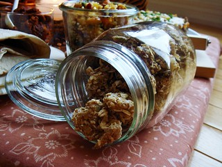 Indoor Picnic: Snack of Granola Crusted Nuts