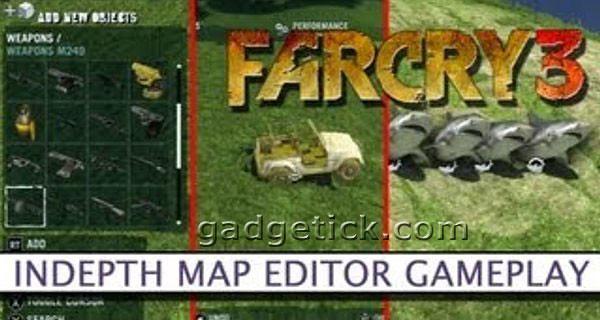 Far Cry 3 Новый трейлер Редактор карт