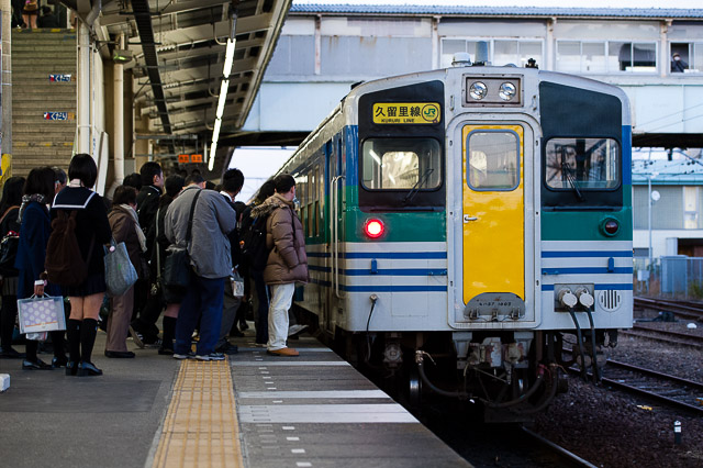JR東日本久留里線 キハ37